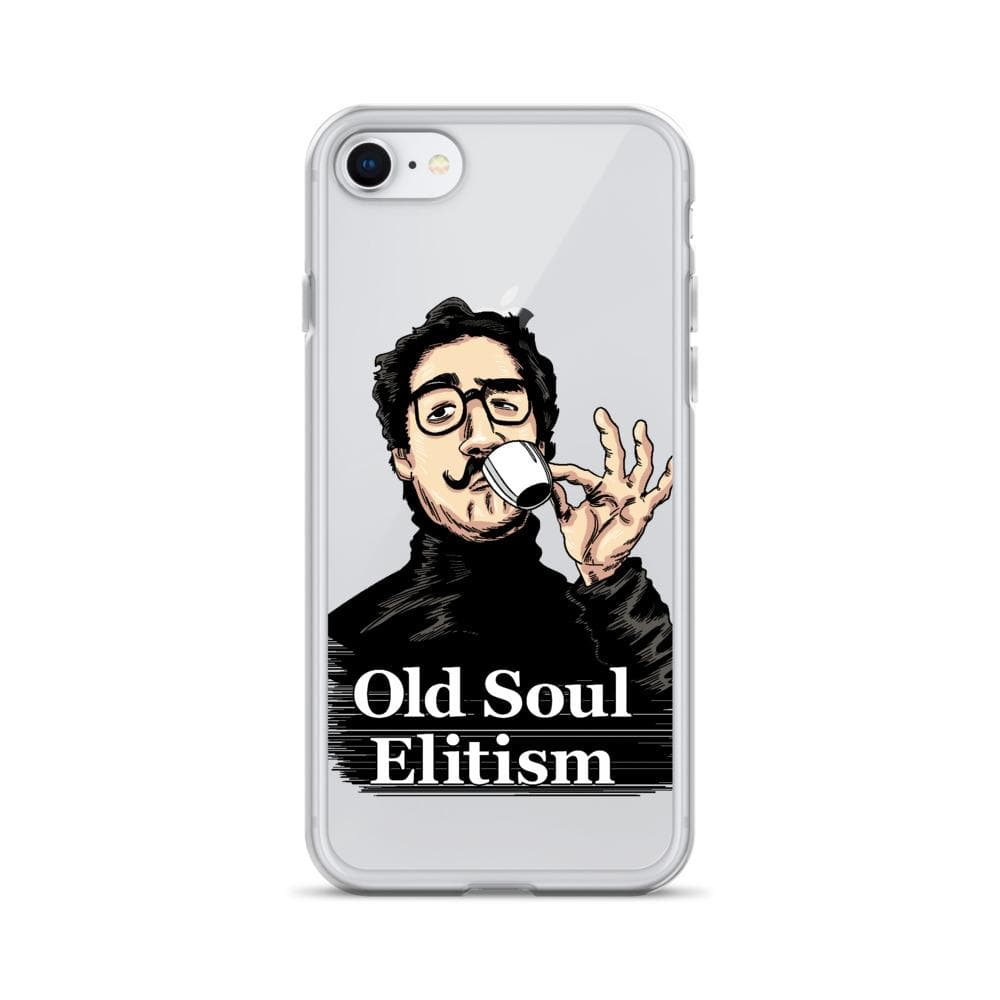 OLD SOUL ELITISM iPHONE CASE PHONE CASE iPhone 7/8 DEARSOUL