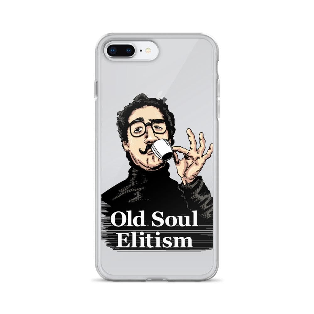 OLD SOUL ELITISM iPHONE CASE PHONE CASE iPhone 7 Plus/8 Plus DEARSOUL