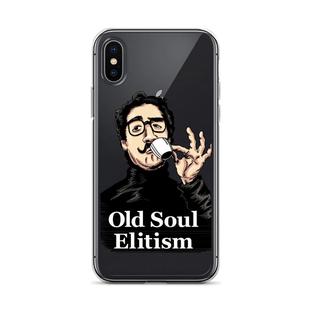 OLD SOUL ELITISM iPHONE CASE PHONE CASE iPhone X/XS DEARSOUL