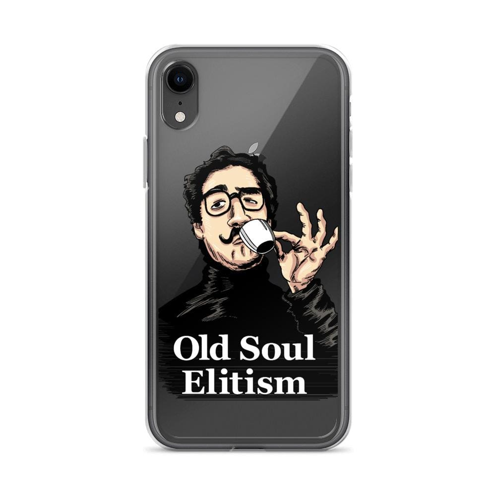 OLD SOUL ELITISM iPHONE CASE PHONE CASE iPhone XR DEARSOUL