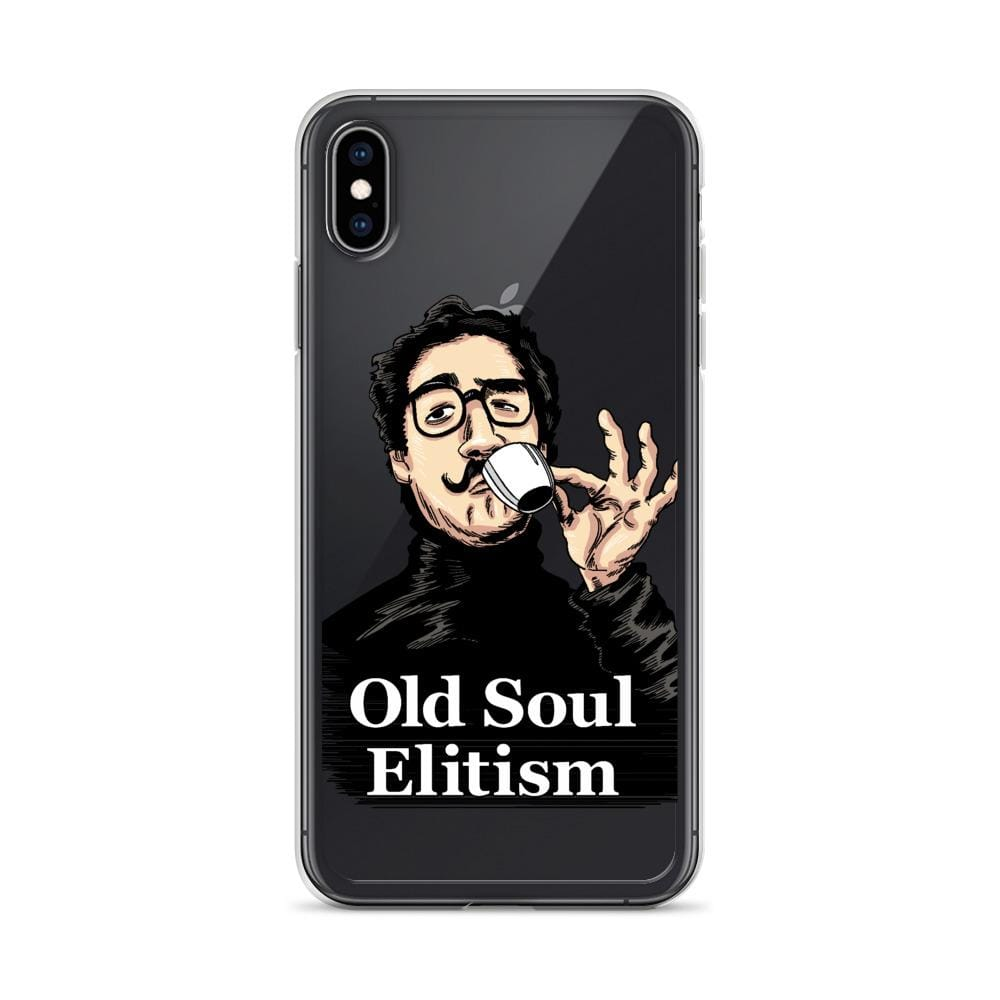 OLD SOUL ELITISM iPHONE CASE PHONE CASE iPhone XS Max DEARSOUL