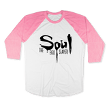SOUL THE EGO SLAYER-UNISEX RAGLAN - AMERICAN APPAREL DEARSOUL