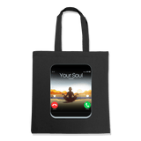 5G CELL PHONE - TOTE BAG TOTES Black DEARSOUL