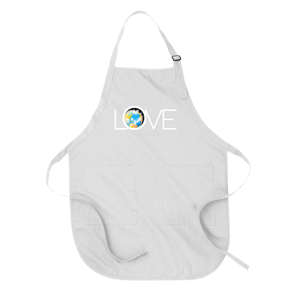 LOVE ALL THINGS - APRON White DEARSOUL