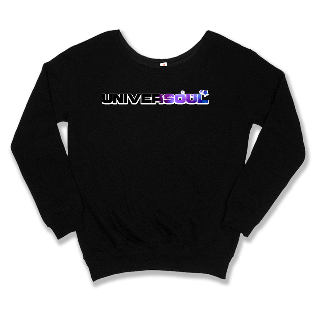 UNIVERSOUL - SLOUCHY SWEATER WOMEN'S SWEATER Black / XS DEARSOUL