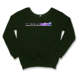 UNIVERSOUL - SLOUCHY SWEATER WOMEN'S SWEATER Forest Green / XS DEARSOUL
