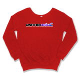 UNIVERSOUL - SLOUCHY SWEATER WOMEN'S SWEATER Red / XS DEARSOUL