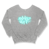 SOULED OUT - SLOUCHY SWEATER WOMEN'S SWEATER Sport Grey / XS DEARSOUL