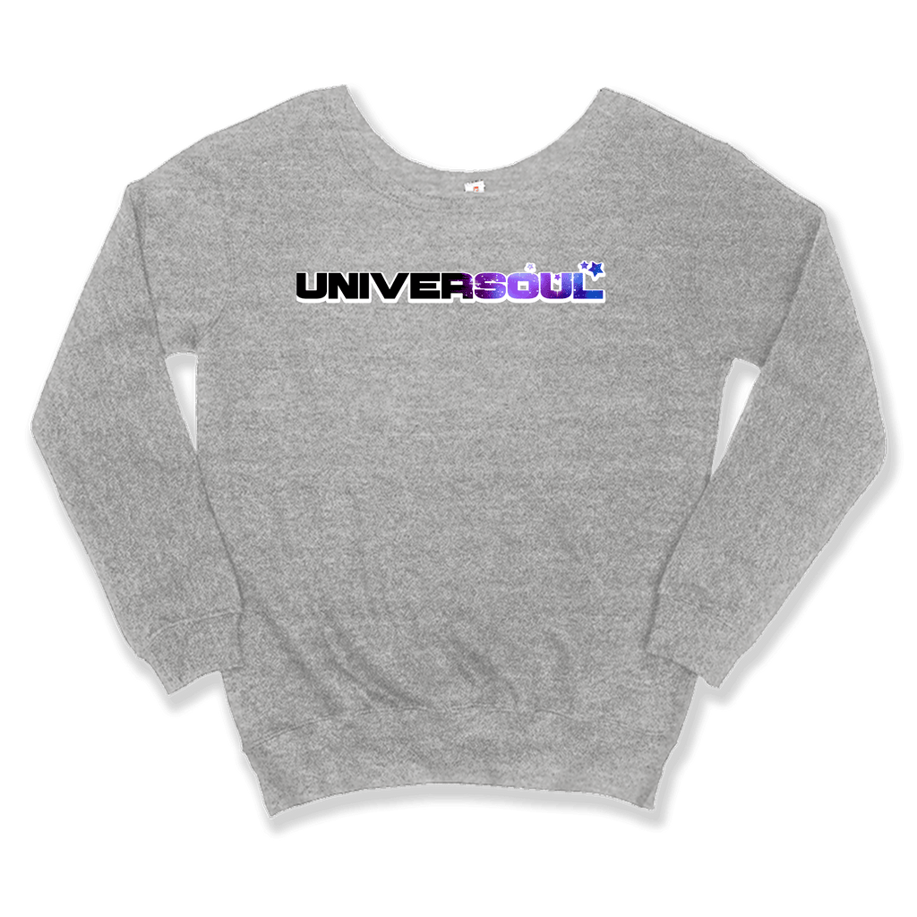 UNIVERSOUL - SLOUCHY SWEATER WOMEN'S SWEATER Sport Grey / XS DEARSOUL
