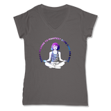 MANIFEST - LADIES V-NECK T-SHIRT WOMEN'S V-NECK Coal Grey / XS DEARSOUL