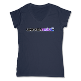 UNIVERSOUL - LADIES V-NECK T-SHIRT WOMEN'S V-NECK True Navy / XS DEARSOUL