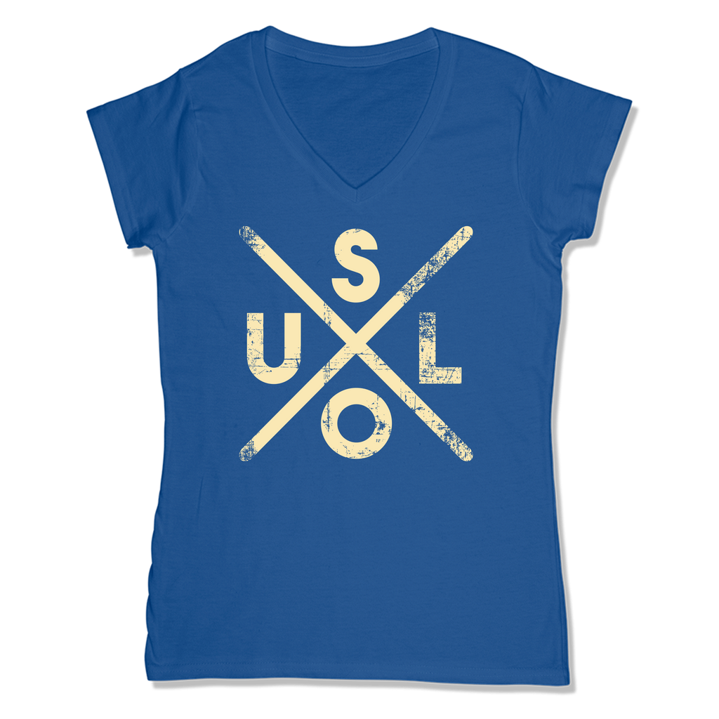 SOUL -  LADIES V-NECK T-SHIRT WOMEN'S V-NECK True Royal / XS DEARSOUL