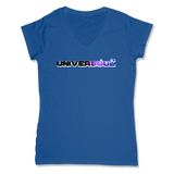 UNIVERSOUL - LADIES V-NECK T-SHIRT WOMEN'S V-NECK True Royal / XS DEARSOUL