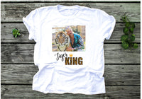Tiger King ~ Joe Exotic ~ Adult Unisex Short Sleeve Tee ~ Graphic Tee