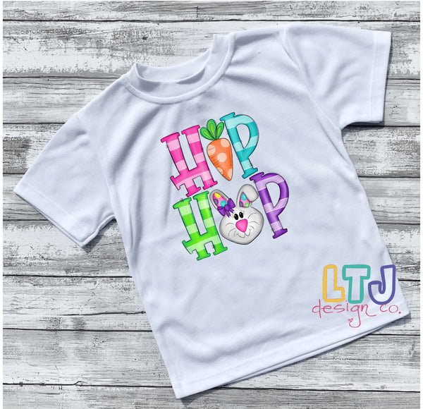 Hip Hop Toddler Short Sleeve T-Shirt ~ Easter Shirt