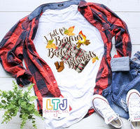 I Fall for Bonfires Boots & Blankets Short Sleeve Tee ~ Fall Shirt