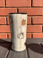 Pumpkin Spice Tumbler ~ Glitter Tumbler ~ If Loving Pumpkin Spice is wrong I don't wanna be right