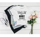 Chillin on a Dirt Road Short Sleeve Tee ~ Country Music Shirt ~ Concert Shirt ~ Jason Aldean Shirt
