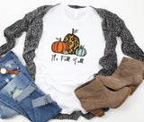 It's Fall Y'all Short Sleeve Tee ~ Graphic Tee
