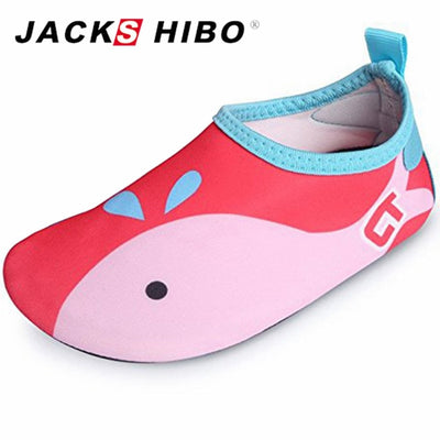 Kids Water Shoes Anti-slip Barefoot Skin Sandals for River Beach Sandy Beach Aqua Shoes for Kids Indoor Slipper-on - ibootskids