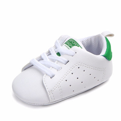 Baby Shoes Boy Girl Solid Sneaker Cotton Soft Anti-Slip Sole Newborn Infant First Walkers Toddler Casual Sport Crib Shoes - ibootskids