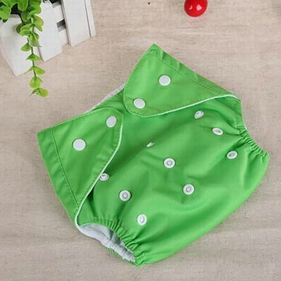 Baby Diapers Washable Reusable Nappies Grid/Cotton Training Pant Cloth Diaper Baby Fraldas Winter Summer Eco-friendly Diapers - ibootskids