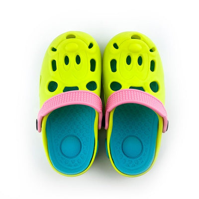 Waterproof non-slip wear-resistant silicone breathable shoes boys and girls beach hole shoes cartoon Children's Shoes Sandals - ibootskids