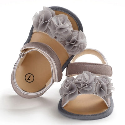Soft Sole PU Baby girls Canvas bow First Walkers Shoes Fashion summer Prewalkers First walker toddler moccasins - ibootskids