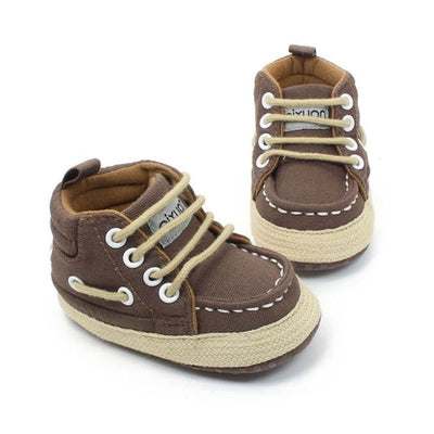 Baby Shoes I Love PaPa&MaMa Letter Printed Soft Bottom Footwear Heart-shaped 0-18M Newborn First walker - ibootskids