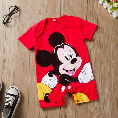 Newborn Mickey Baby Rompers Disney Baby Girl Clothes Boy Clothing Roupas Bebe Infant Jumpsuits Outfits Minnie Kids Christmas - ibootskids