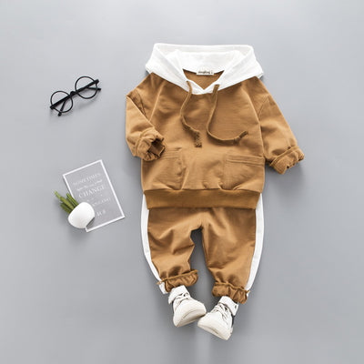 Toddler Boys Clothes 2020 Autumn Spring Kids Clothes Hooded+Pant Outfit Children Clothing Suit For Boys Clothing Sets 2 3 4 Year - ibootskids