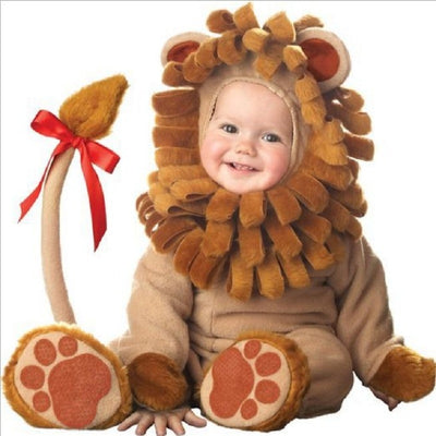 cartoon Animal Cosplay baby girl clothes winter christmas costume new born boy romper halloween jumpsuit Toddlers Infant onesie - ibootskids