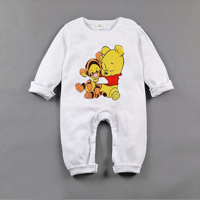 Newborn Baby Autumn clothes Long jumpsuit baby romper tiger costume baby girl overall boy clothes hooded suit clothing outfits - ibootskids
