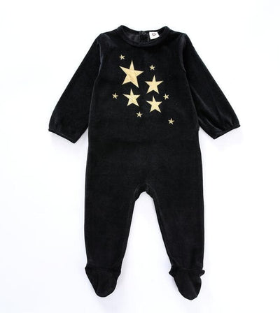 Baby bodysuit pyjamas kids clothes long sleeves children clothing newborn baby overalls children boy girls clothes baby pajamas - ibootskids