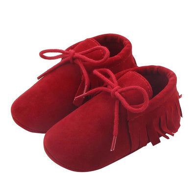 Newborn Baby Shoes Girls Boys Soft Warm Nubuck Leather Prewalker Anti-slip Shoes Canvas Sports Sneakers Moccasins Footwear Shoes - ibootskids