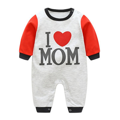 VTOM Baby Infant  Rompers Baby Boys Girls Long-Sleeved Rompers Cartoon Infant Jumpsuit  Baby Toddler Clothes BB8-2 - ibootskids