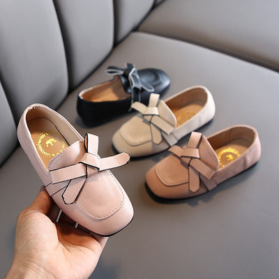 Little Girls Dress Shoes for Kids Leather 2020 New Arrival Slip on Shoes Girls Princess Children Loafers Kids Party Shoes - ibootskids