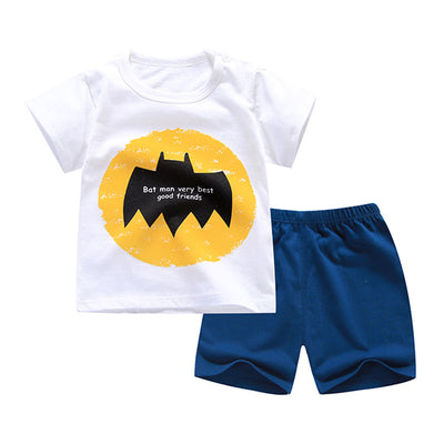 Summer T-Shirt+Short Pants 2020 Baby Boys Girls Cotton Clothing Sets Clothes set Outfits Bebes Suits 6M to 7 Years Old 2 PCS Set - ibootskids