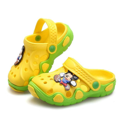 2020 Fashion New Summer Children Cartoon Characters Cave Shoes Boys And Girls Slippers sandals two wear Antiskid Slippers Beach - ibootskids