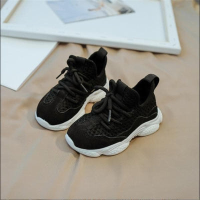 2020 New Autumn Children Shoes Unisex Toddler Boys Girls Sneakers Mesh Breathable Fashion Casual Kids Shoes Size 21-30 - ibootskids