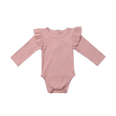 Winter Baby Girl Rompers Autumn Princess Newborn Baby Clothes For 0-2Y Girls Boys Long Sleeve Jumpsuit Kids Baby Outfits Clothes - ibootskids
