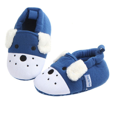 Baby Thickening Warm Indoor Shoes Children Cotton Shoes Kids Home Slippers Boys Girls Cute Cartoon Shoes - ibootskids