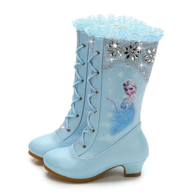 4-13 Years Old Girls Boots Frozen - ibootskids