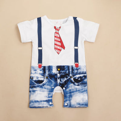 NEW Kids Baby Boys Clothes Overalls Costume Suit Grow Outfit Romper Pants 3-24M - ibootskids