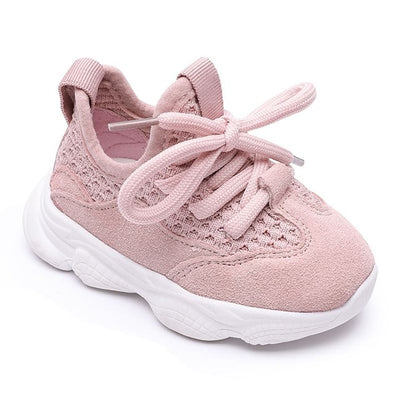 Spring/Autumn Baby Girl Boy Toddler Shoes Casual Infant Sport Shoes Soft Bottom Comfortable Breathable Kid Sneaker - ibootskids