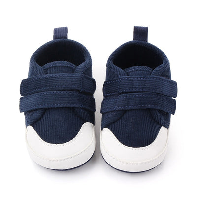 Baby Boys Shoes Breathable Anti-Slip First Walkers Toddler Soft Soled Solid Color Boy Shoes Walking Sneakers 0-1Y - ibootskids