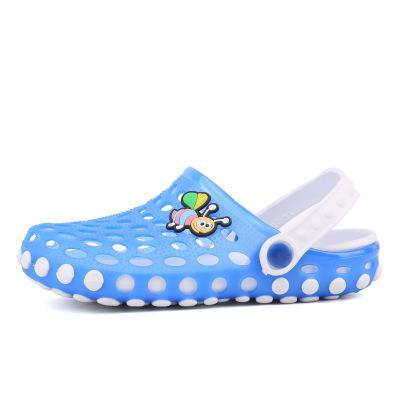 Unisex Kids Slippers Children Summer Shoes Cave Garden Shoes Cartoon Bee Girls Slippers Boys Beach Sandals Outdoor High Quality - ibootskids