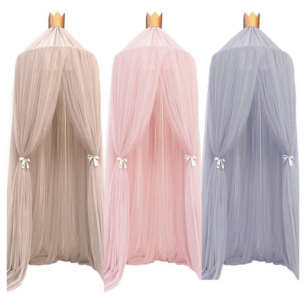 7 Colors Baby Bed Hanging Mosquito Net Dome - ibootskids
