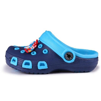 Summer New Children Water Shoes Beach Sandals Kids Hole Sandal Boy Wading Breathable Sandals - ibootskids