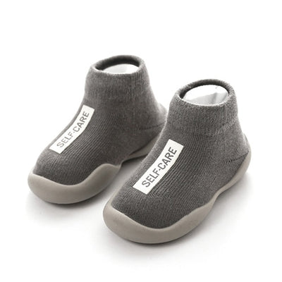 baby shoes first shoes baby walkers toddler first walker baby girl boy kids soft rubber sole baby shoe knit booties anti-slip - ibootskids